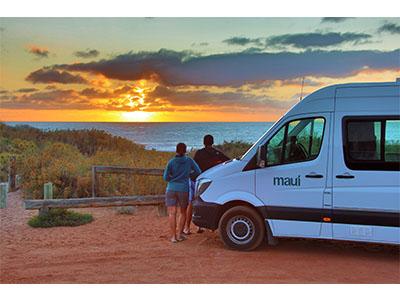 3aa128941a ... Maui Ultima Plus Campervan – 3 Berth – scenic photo ...