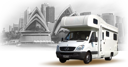 location de camping-car À Sydney, Australie